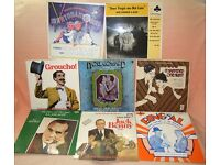 Miscellaneous vinyl records: 1930s to 1960s, music, radio shows, film scores etc