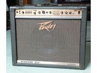 For sale - PEAVEY ECOUSTIC 112 2-channel Electro-acoustic Guitar Amplifier (100W)