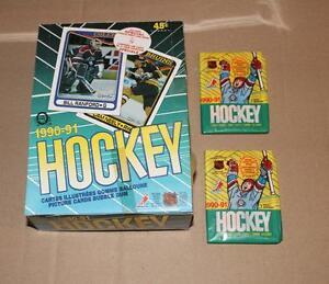 1990-91 NHL O-Pee-Chee Hockey Pack