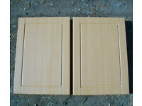 IT Kitchens Chilton Beech Effect Standard Doors 500mm - IT Kitchens Beech Style