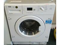beko 8kg integrated washing machine