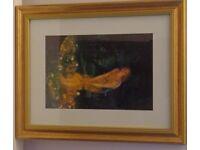 "Framed Print of ""Midsummer Eve"" painting by Edward Robert Hughes"