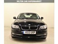 BMW 3 SERIES 2.0 320D SE 2d 181 BHP + 1 PREV OWNER + SAT NAV + LEATHERS (black) 2012