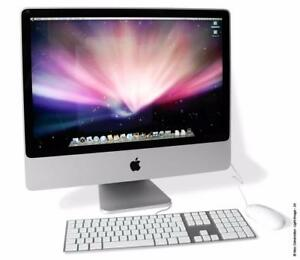 "Apple Imac 20"" 2008 All In One Desktop, Intel Core 2 Duo, 4GB Ram, 160GB HDD, DVD/RW, El Capitan"