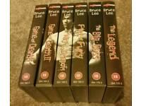 Classic Bruce Lee VHS set.