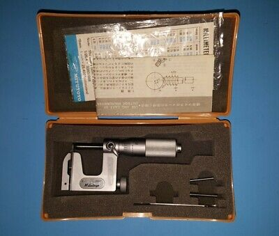 Mitutoyo 117-107 Uni-mike Multi-anvil Micrometer 0-1 X .0001