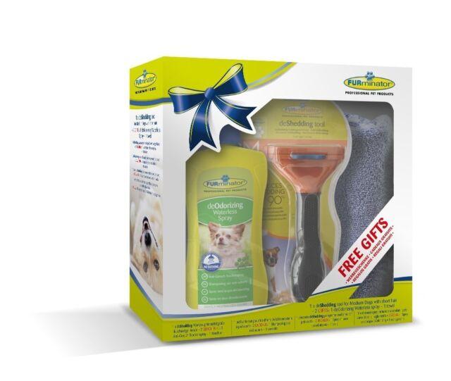 FURminator Dog De zu vergießen Werkzeug Kurze Haare /MITTELKURZ or LANGES HAAR