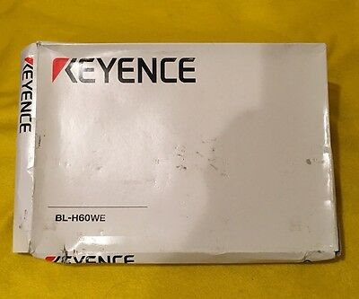 New Keyence Bl-h60we Manual And Software For Bl-600 Series Laser Bar Code Reader