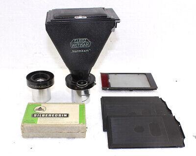 Leitz Wetzlar Vintage Normkam Camera For Ortholux And Similar Microscope