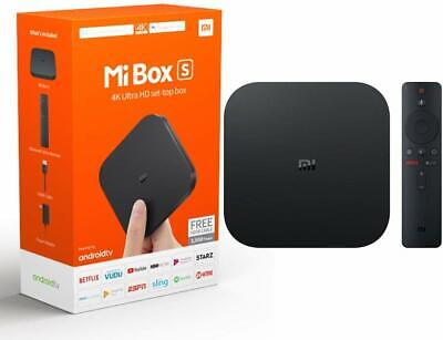 Xiaomi Mi Box S | 4K HDR Android TV with Google Assistant Streaming Media Player Consumer Electronics