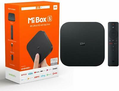 Xiaomi Mi Box S | 4K HDR Android TV with Google Assistant St