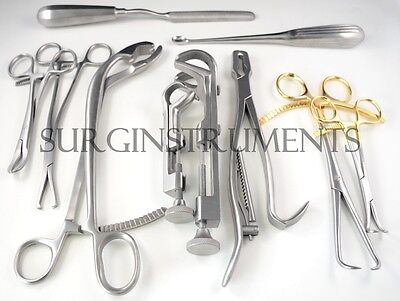 Neurosurgical Laminectomy Instrument Set Ns 02