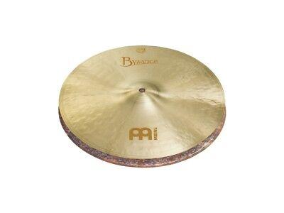 Meinl Byzance Jazz Thin - Meinl Byzance Jazz Thin Hi Hat Cymbals 15