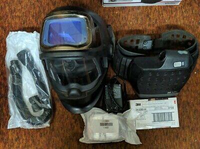 Speedglas 9100 Fx Air Welding Helmet 3m Adflo Li Battery - W Bag - Cr
