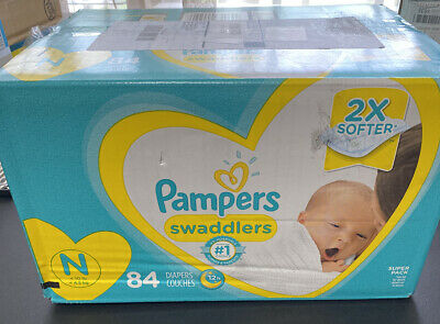 pampers swaddlers newborn diapers 84 Super Pack