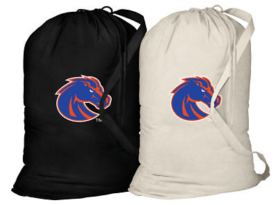 Boise State University Laundry Bags 2PC SET Boise State Broncos Clothes Bags