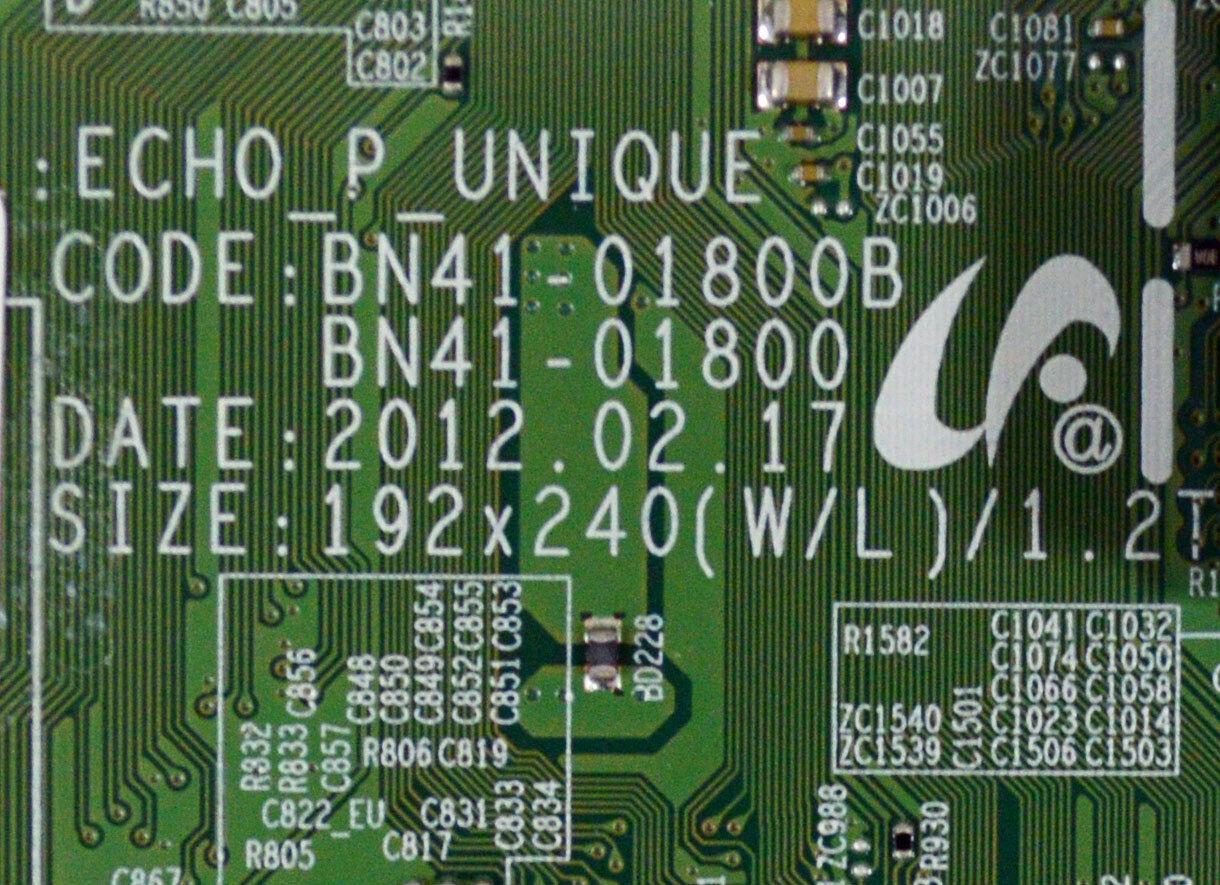 Mail-in Repair Service For Samsung UN60ES7500 Main Board 1