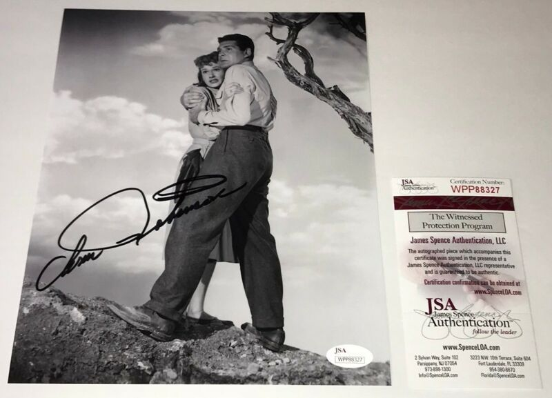 ANN ROBINSON Signed WAR OF THE WORLDS 8x10 Photo JSA COA