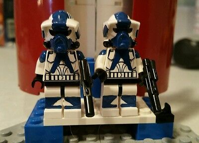 - Lego Star Wars Custom 501st ARF Scout Troopers Edge and Renier