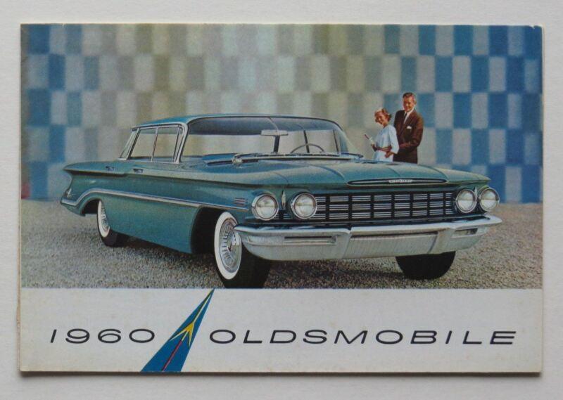 1960 Oldsmobile Brochure 88 98