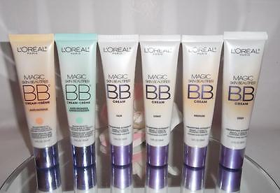 Loreal Magic Skin Beautifier BB Cream 1oz YOU CHOOSE 4-In-1 Primer Corrector