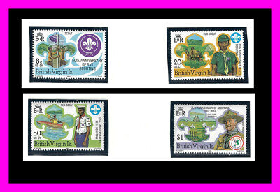 Virgin Islands: 1982 Scouting Year - MNH set - Scott 438-441
