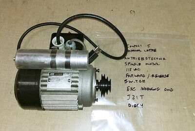 Emco Compact 5 Manual Lathe Partsspindle Motor W Forward Reverse Switch J21t