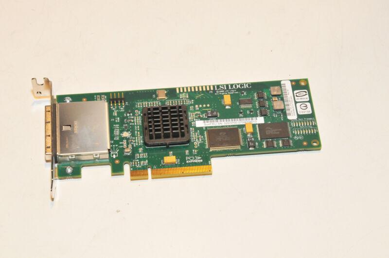 LSI SAS3801EL-S PCI-E External 8-port Host Bus Adapter HBA SUN 375-3487-01