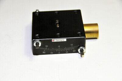 Optosigma Single Axis 65mm Goniometer No Micrometer Internal Drive