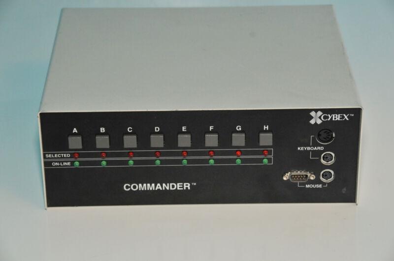 CYBEX Commander AR-8 Rev W KVM Switch P/N 520-001     $50