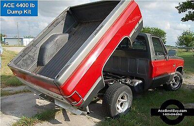 4400 lbs Pickup Dump Bed Hoist Kit. Turn into dump truck. 2.2 Ton POWER DOWN