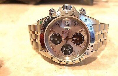 Tudor Prince Tiger Automatic Chronograph 79280 Panda with box!