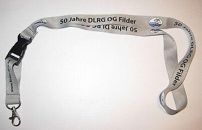 DLRG Ortsgruppe Filder 50 Jahre Schlüsselband Lanyard NEU (T77)