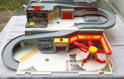vintage hot wheels service center - car wash Mattel 1979
