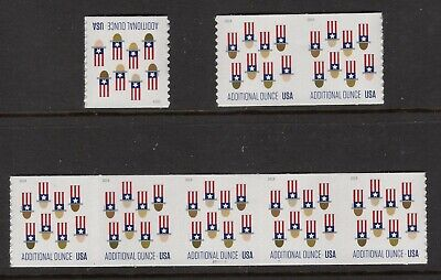 US 2019 NEW NH Uncle Sam's Hat Coil Single Pair Plate # Strip 5 - Free USA Ship