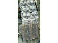 15 reclaimed roofing tiles