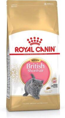 Royal Canin Feline Breed Specific British Shorthair Kitten Dry Cat Food 400g