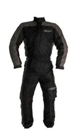 RST 1801 Waterproof Motorcycle Textile Oversuit Brand New Sizes XL Rain Suit