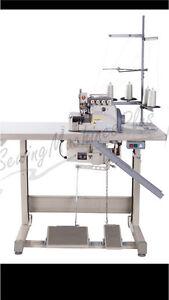 Industrial serger / overlock machine