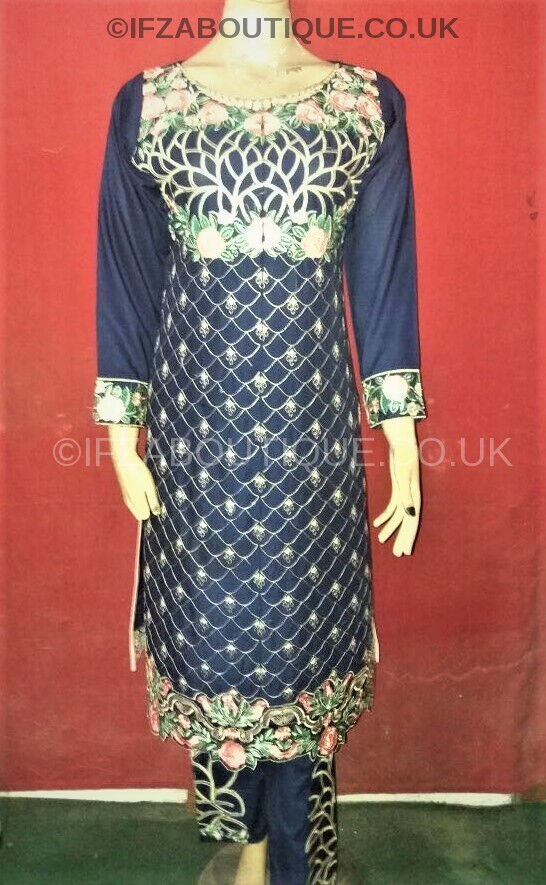Latest Readymade Pakistani Salwar Kameez embroidered linen Stitched Suits