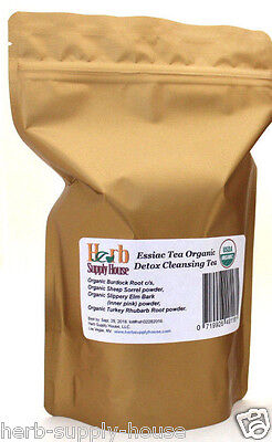 Essiac Tea Organic 1Lb  Makes 5 Gallons  Unisex  Detox Liver Blood Lymph Cleaner
