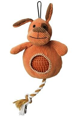House of Paws Cord Dog With Spiky Ball Dog Toy New With Tags