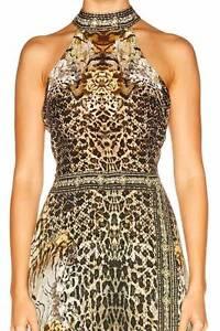 Camilla - SPIRIT ANIMAL HIGH NECK LAYERED DRESS South Brisbane Brisbane South West Preview