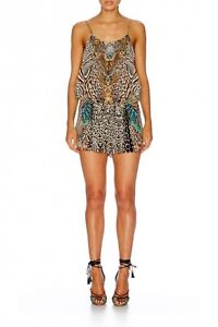 New Camilla Warrior Wanderlust Shoestring Playsuit Size 2 Pagewood Botany Bay Area Preview