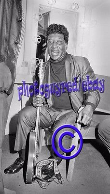Muddy Waters, dressing room portrait - 8x10  vintage Photograoh