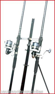 2 X 13 Ft Mitchell Catch Rods & Sx 70 Reels & Tripod Beachcaster Sea Fishing