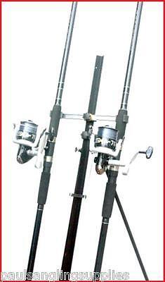 2 X 15 Ft Mitchell Catch Rods & Sx 70 Reels & Tripod Beachcaster Sea Fishing