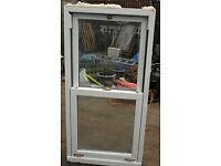PVC sash window