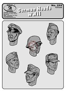 Royal-Model-1-35-German-Heads-WWII-No-1-6-Heads-252