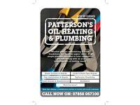 Plumbing, Oil Heating repairs and maintenance. Boiler Service & Repair.
